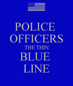 police-officers-the-thin-blue-line